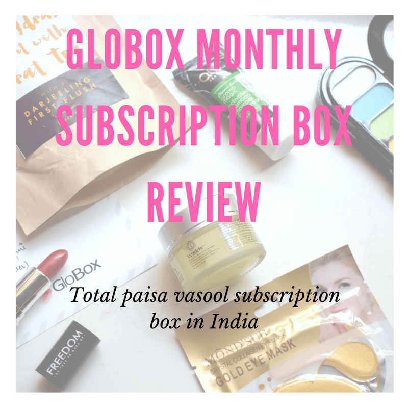 Globox Monthly subscription box in India : Box of the month