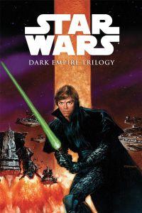 "The trade cover to Dark Horse Comics' ""Dark Empire Trilogy."""