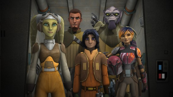 Star Wars Rebels Group Image