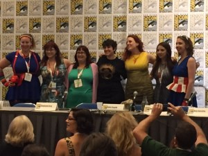 The Level Up Your Style with Geek Fashion panel. SDCC 2015