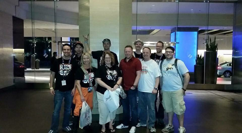 The CWK family at SWCA this year!