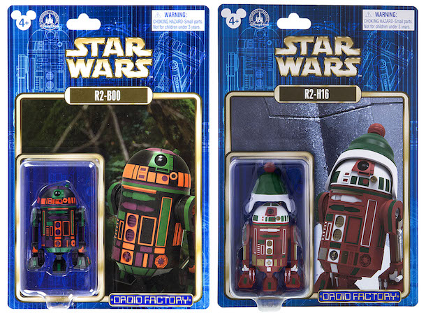 Astromech droid action figures - R2-B00 and R2-H16