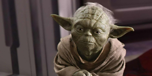 Yoda shows concern, Yoda and the March of Time