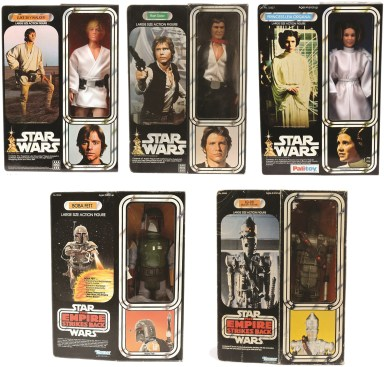 P30, The original Star Wars 12 inch line was short-lived but the figures were some of the first items to become collectable.