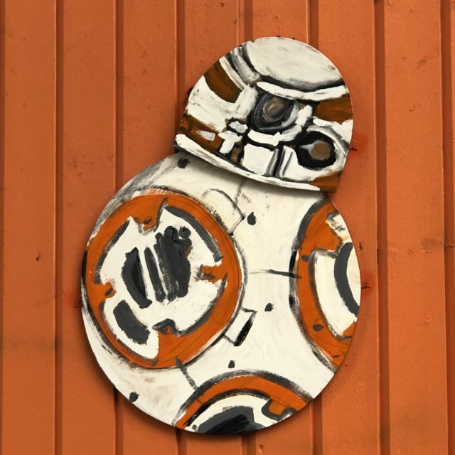 Star Wars in the United Kingdom and Europe. BB-8 in Bergen