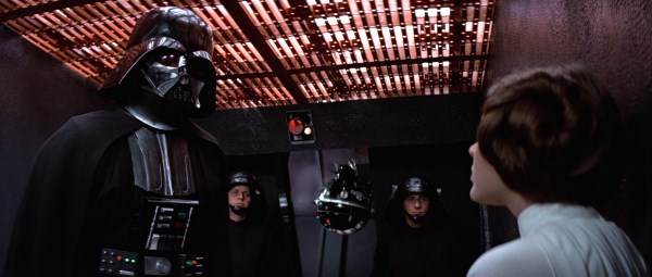 Forces of Evil Part II (The Original Trilogy and Rogue One) - Darth Vader tortures Leia for information in A New Hope