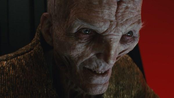 Forces of Evil in Star Wars - Snoke