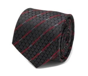 Darth Vader Black Lightsaber Stripe Men's Tie
