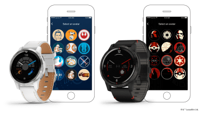 Legacy Saga Series Rey™ and Darth Vader™ special edition smartwatches - $399.99