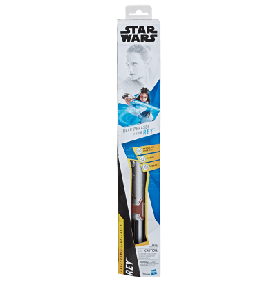 STAR WARS ELECTRONIC LEVEL 2 LIGHTSABER Assortment - $19.99 (HASBRO/Age: 6 years & up/Approx. Retail Price: $19.99/Available: Fall 2019)