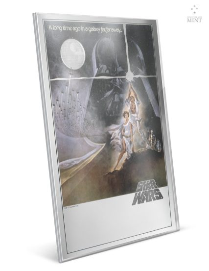 NEW ZEALAND MINT: Star Wars: A New Hope - Premium 35g Silver Foil - $129 This 35g fine silver collectible is presented in a clever acrylic holder, designed to frame the foil and allow for easy display. It is packaged inside a complementary themed carrier, with the Product Specifications printed on the outside. As a unique, limited edition silver collectible it would make an amazing gift for any Star Wars fan. Only 10,000 were made. Shop now at New Zealand Mint: https://www.nzmint.com/coin-collections/star-wars-a-new-hope-35g-pure-silver-premium-foil?nav=5856
