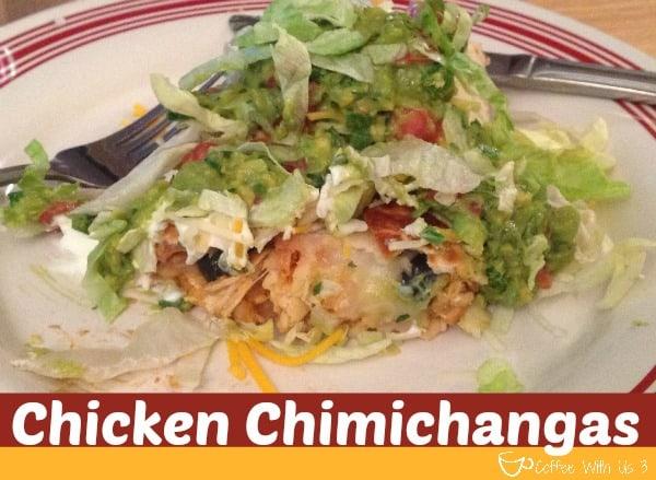 Chicken Chimichanga