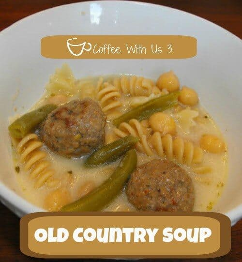 Old Country Soup is a great recipe passed down to me