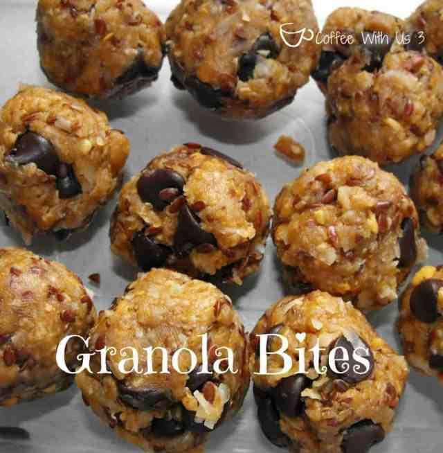 New Year Goodies - Granola Bites