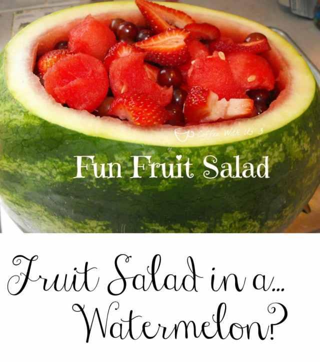 Fun Fruit Salad