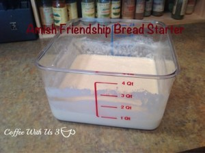 amish friendship bread starter