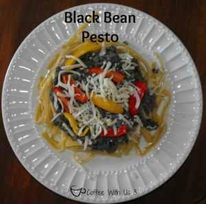 Easy & Yummy Vegetarian Black Bean Pesto