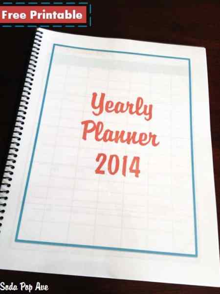 2014 Yearly Planner Banner