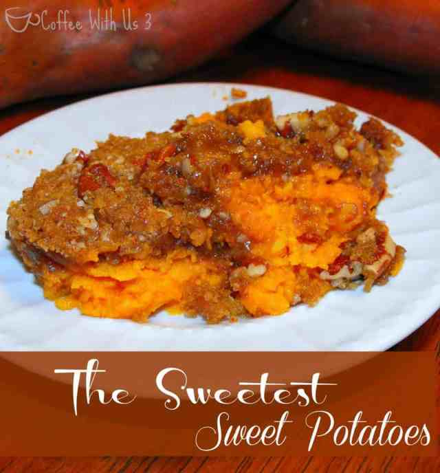 The Sweetest Sweet Potatoes. This is seriously my favorite recipe for sweet potatoes ever!