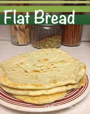 Flat Bread by Coffee With Us 3 #recipes