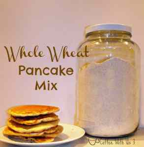 Whole Wheat Pancakes