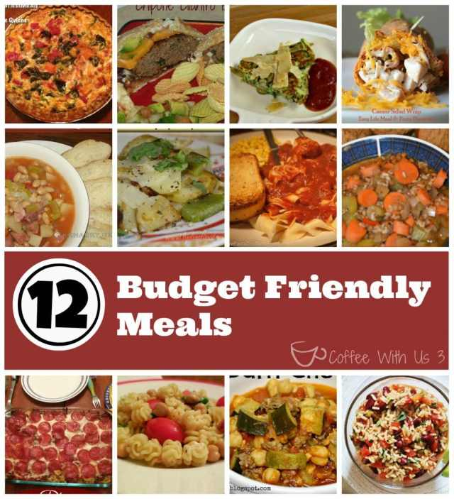 Budget Friendly Meals2