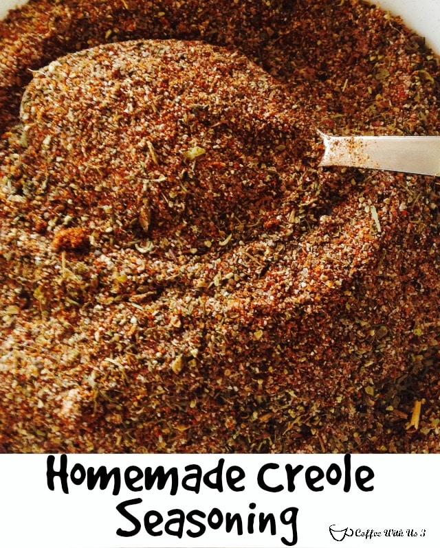 Homemade Creole Seasoning