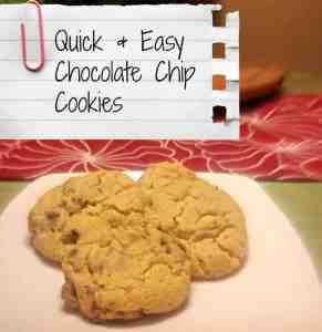 qande chocolate chip cookies