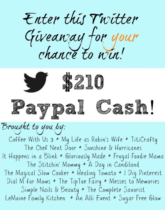 Twitter Giveaway Graphic