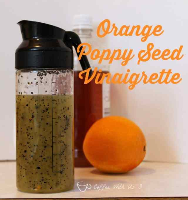 Orange Poppy Seed Vinaigrette