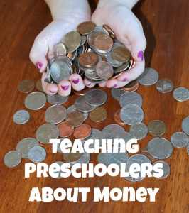 Teaching Preschoolers About Money- It's never too early to lay a strong financial foundation!