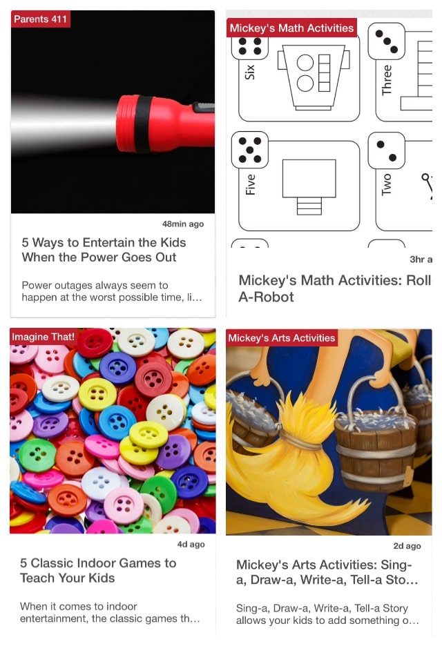 Disney Imagicademy Parents provides daily tips & activity that will keep your children engaged and learning!