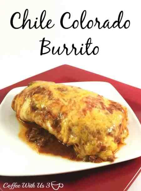 Chile Colorado Burrito - Coffee With Us 3