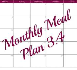 Monthly Meal Plan 3.4 - Coffee With Us 3