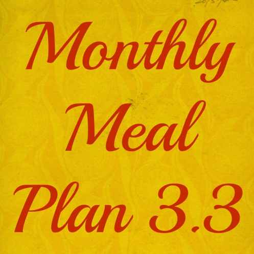 Monthly Meal Plan - Coffee With Us 3