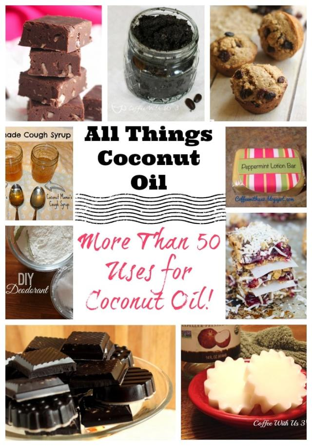 More than 50 Uses for Coconut Oil!