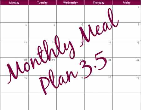 Monthly Meal Plan 3.5 - Coffee With Us 3