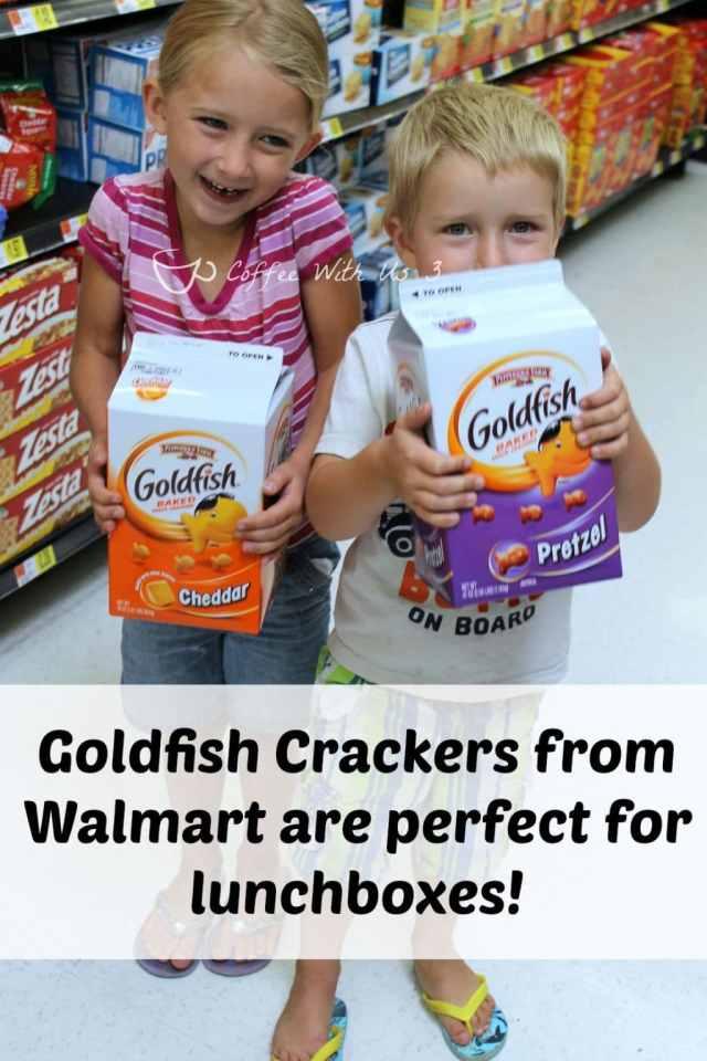 Goldfish Crackers from Walmart