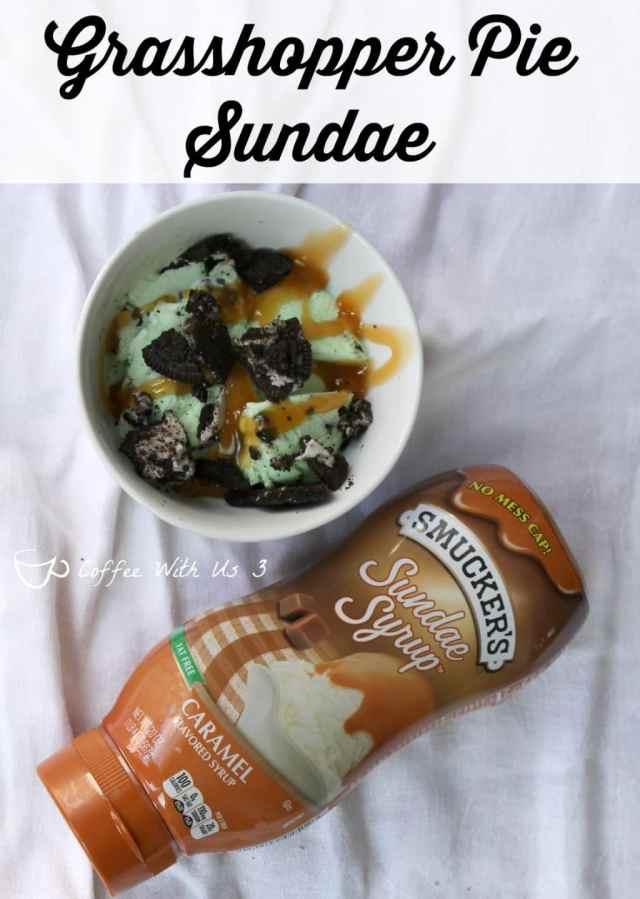 Grasshopper Pie Sundae recipe plus 4 more fabulous Sundae recipes! #sp