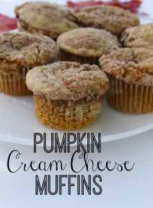 Pumpkin Cream Cheese Muffins. The best pumpkin recipe of all time! Pumpkin with a sweetened cream cheese layer, topped with crunchy streusel.