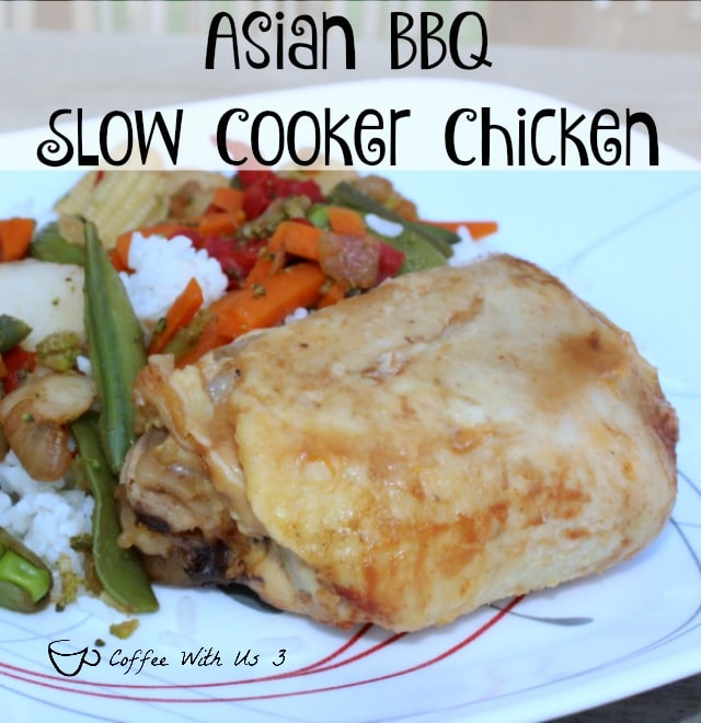 asian bbq slow cooker chicken