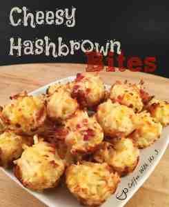 Cheesy Hashbrown Bite
