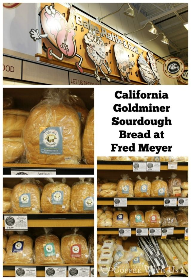 California Goldminer Sourdough Bread at Fred Meyer