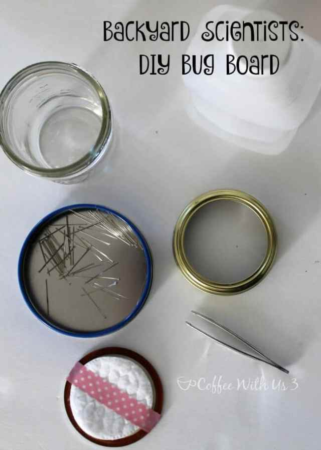 DIY Bug Board Supplies