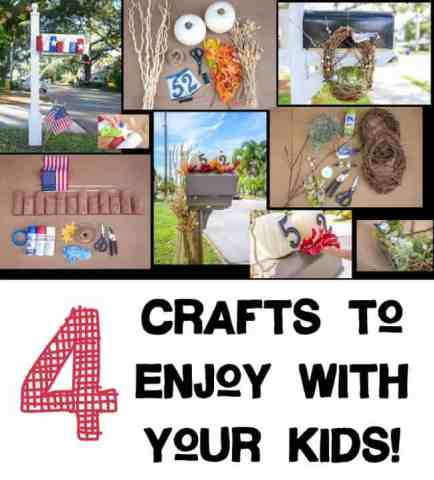 4 Crafts to Enjoy with your Kids