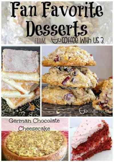 Fan Favorite Desserts