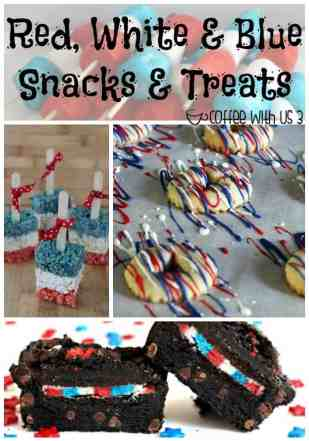 Show your pride for the Red, White, & Blue with these fun & delicious recipes!!
