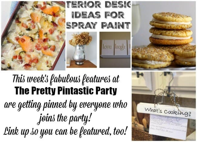 Happy New Year and welcome to the first Pretty Pintastic Party of 2017! My feature favorite from last week's party is How to Tame the Paper Clutter: Industrial Command Center an amazing