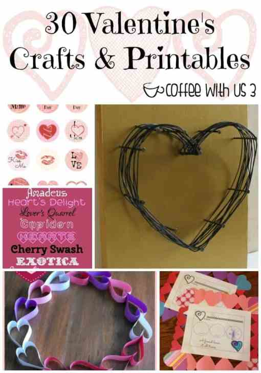 Want to make your Valentine's Day even more special, check out these fun Valentine's Day crafts & printables