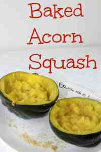 Baked Acorn Squash is an easy vegetable dish. With butter and brown sugar, it is slightly sweet, amazingly delicious and mostly healthy.
